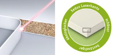 SEDUS: laser edging